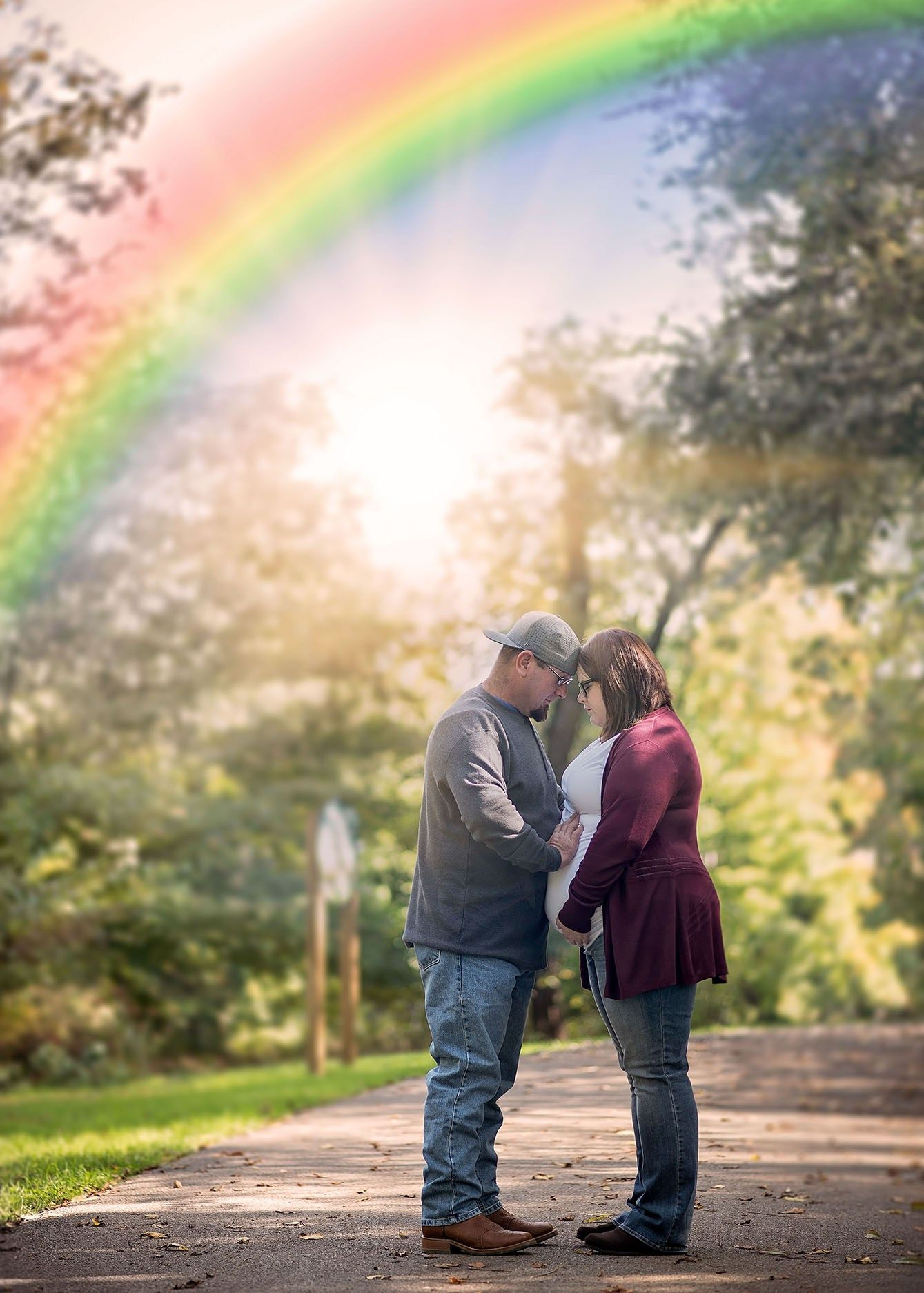 Maternity With Images Rainbow Baby Photography Rainbow Baby