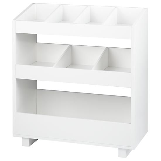 Nice General Storage Shelf (White)   I Love This Storage Option. It Can Hold So  Many Toys And Makes For Easy Cleanup.