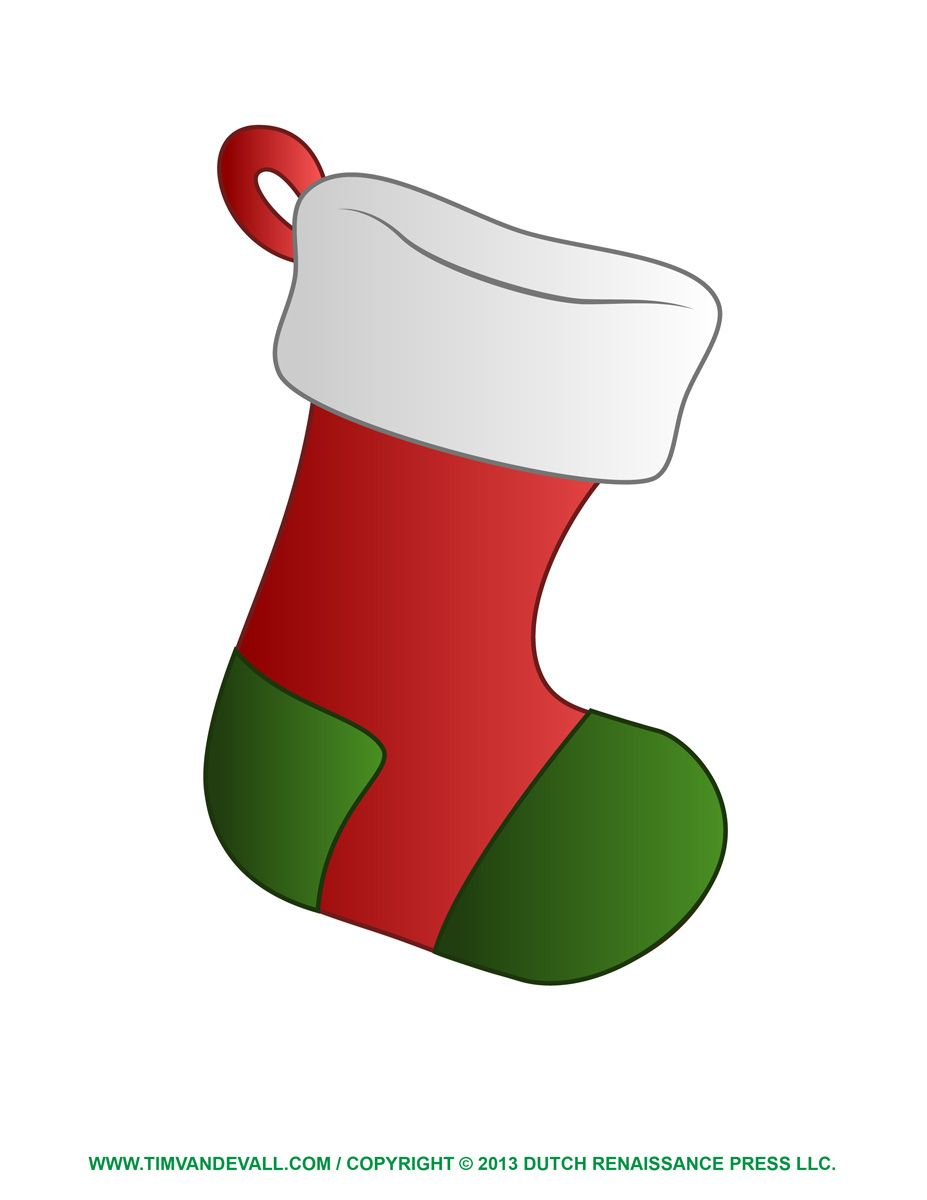 Animal Free Socks Clipart Cliparthut Free Clipart Hanging Christmas Stockings Christmas Stocking Template Stocking Template