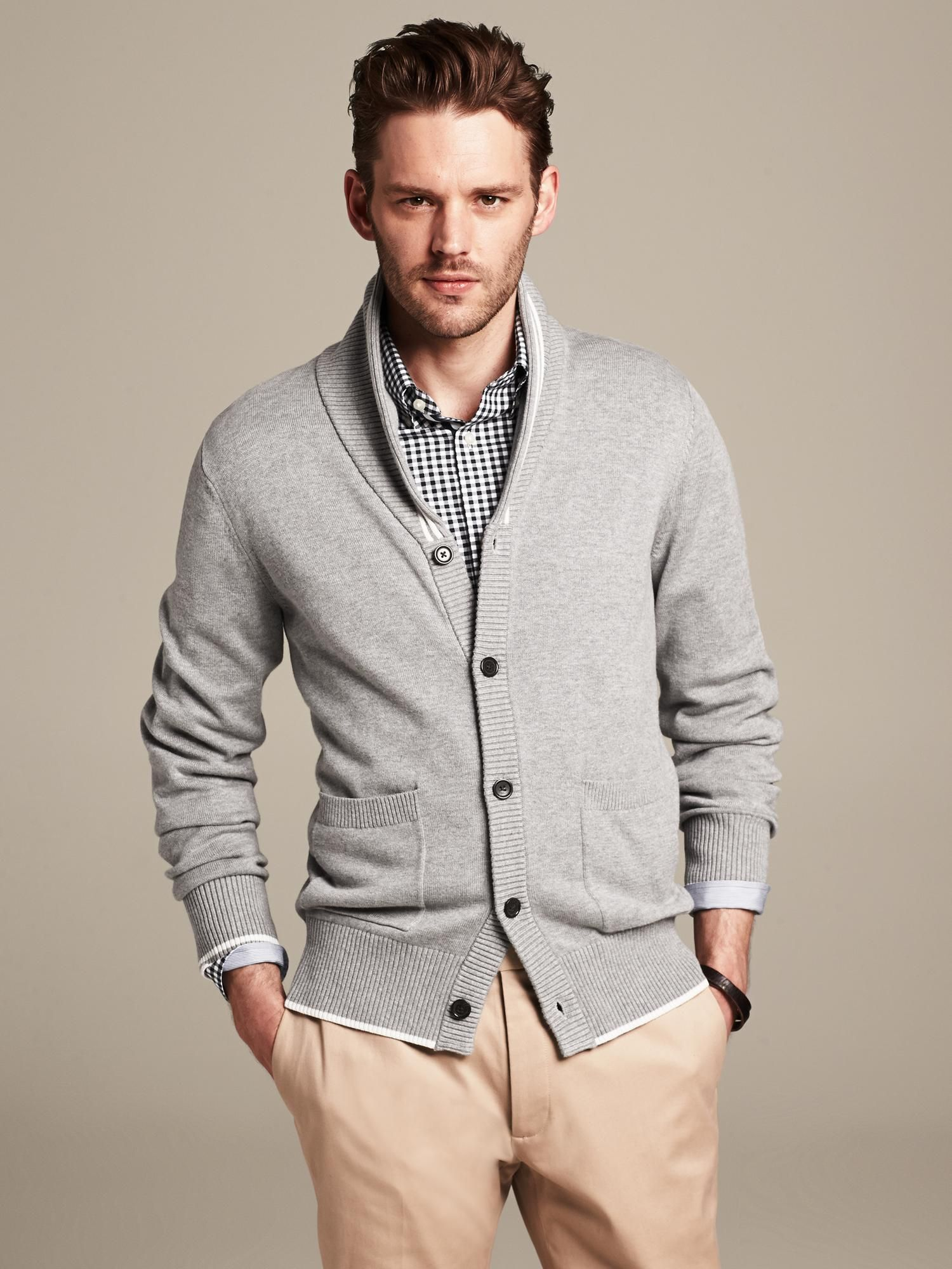This cardigan is still semi professional, but also trendy.   The ...