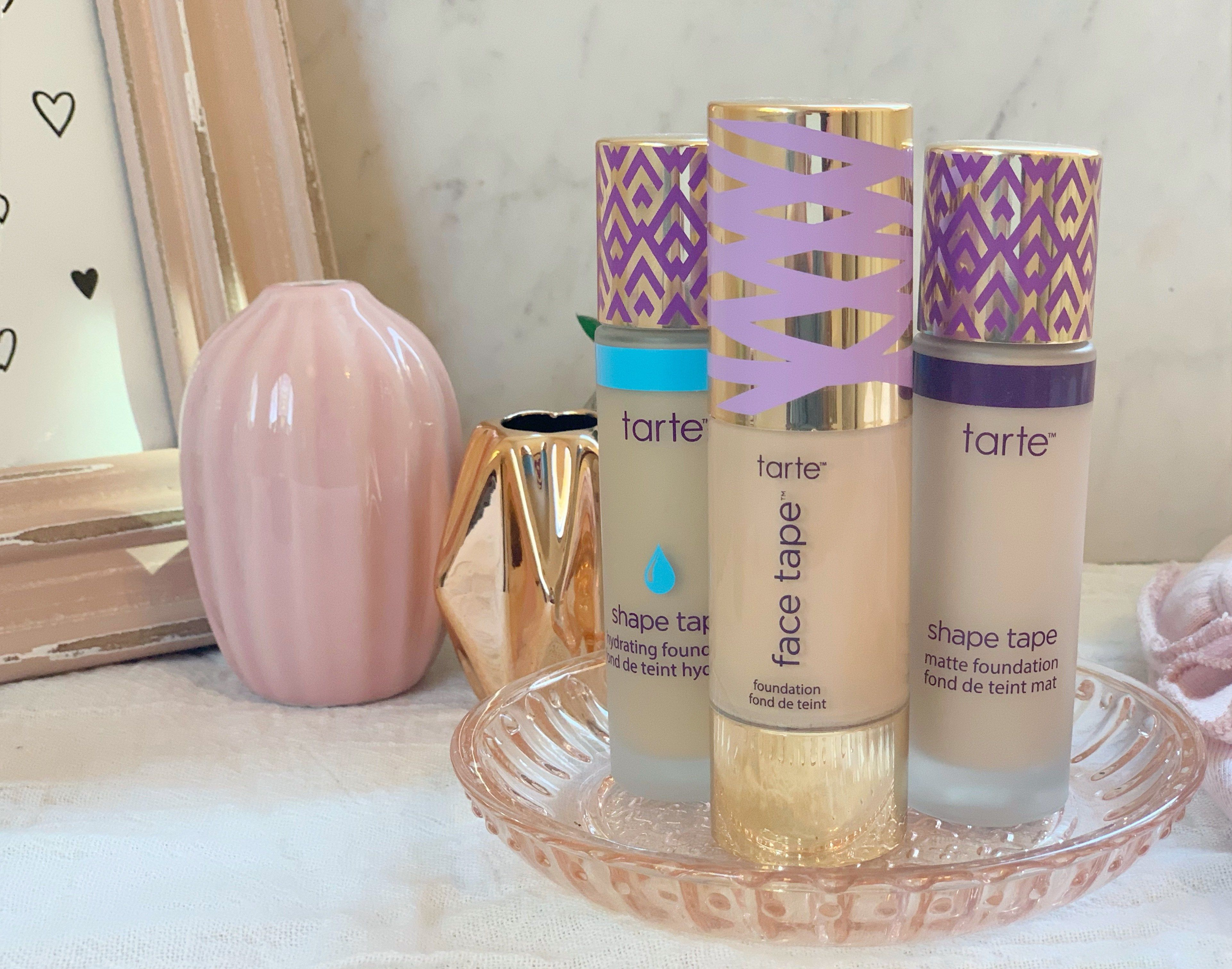 Tarte Face Tape Foundation Review Thoughts The Darling Dahlia In 2020 Tarte Foundation Reviews Foundation Reviews Tarte Foundation