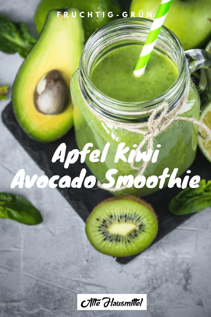 Leckere Smoothies mit Avocado ✓ 5 tolle Rezepte einfach nachmachen!