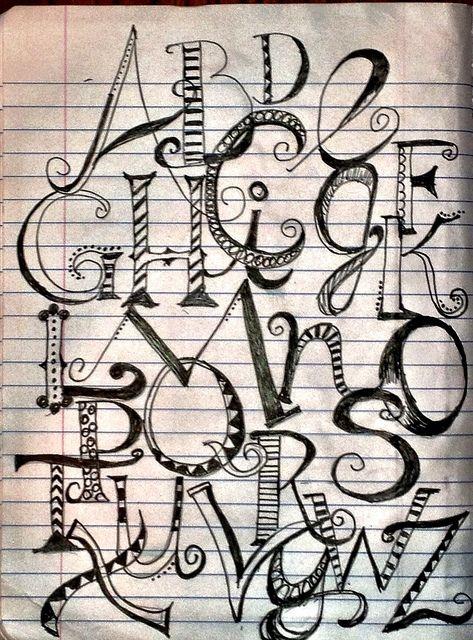Lucy Edson | Lettering alphabet, Creative lettering ...  Creative Lettering Styles