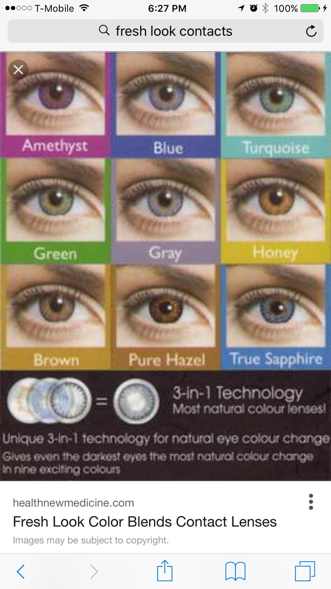 Non Prescription Color Contact Reusable Up To 3 Months With Proper Care Fast And Colored Contacts Contact Lenses For Brown Eyes Prescription Colored Contacts
