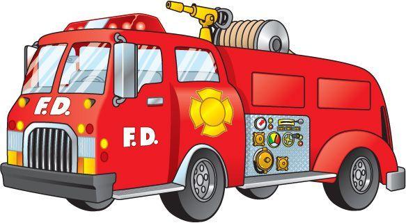 Recursos Para Educacion Infantil Imagenes A Color De Los Transportes Coche De Bomberos Carro De Bomberos Medios De Transporte