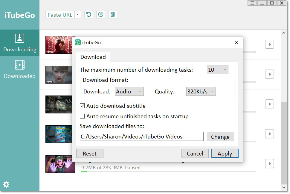 Itubego Youtube Downloader Convert Youtube To Mp3 Mp4 Itubego Youtube Music Converter Youtube Playlist Youtube