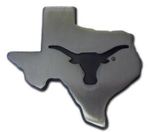 NCAA Texas Longhorns Chrome Auto Emblem