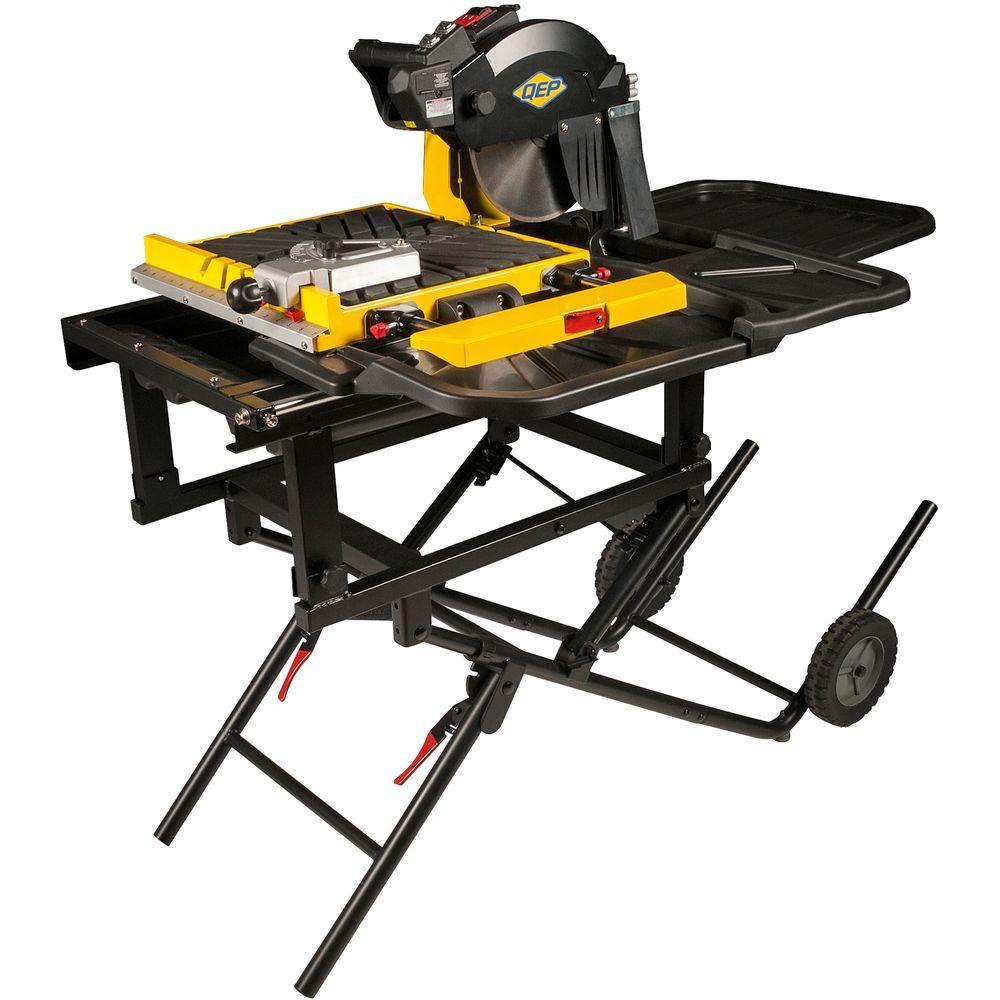 Qep 900xt 2 25 Hp 10 In Professional Tile Saw Tile Saw Tiles