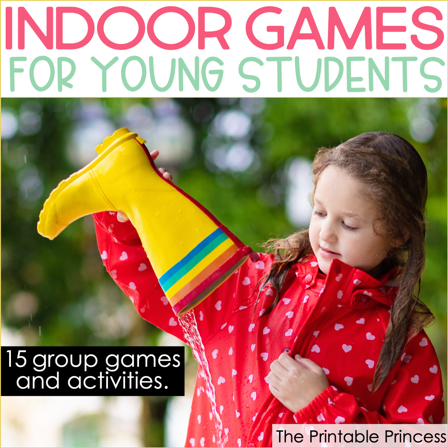 HandsOn Spring Activities for Kindergarten Recess games