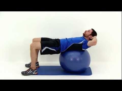 exercise ball ab workout  exercise ball abs ball