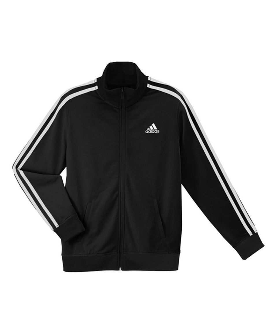 c1c52a268 This Black & White Training Track Jacket - Boys by adidas is perfect ...