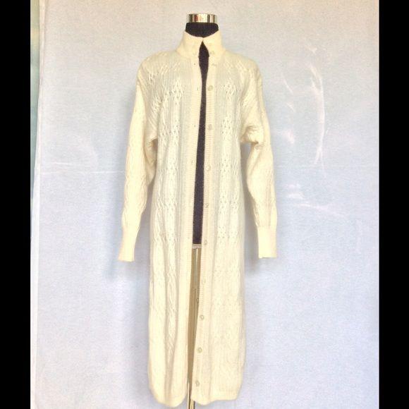 Liz Claiborne small angora sweater dress Jacket. This is a beautiful petite small Liz Claiborne cableknit angora sweater dress jacket.  So soft and luxurious! Liz Claiborne Dresses