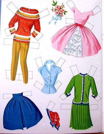 barbie paper doll 4 of 7