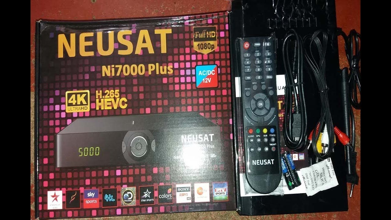 NEUSAT Ni 7000 plus 4k ultra hd sim Receiver Review 2018