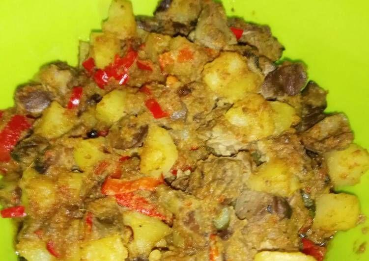 Sambel Goreng Ati Ampela Makanan Pedas Makanan Resep Masakan