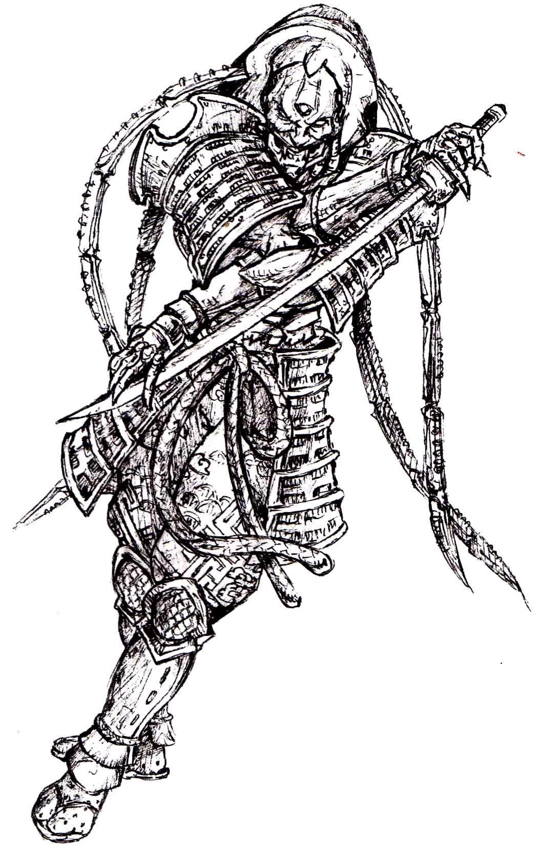 Yoshimitsu Character Design : Yoshimitsu sketch by japantuning pinterest