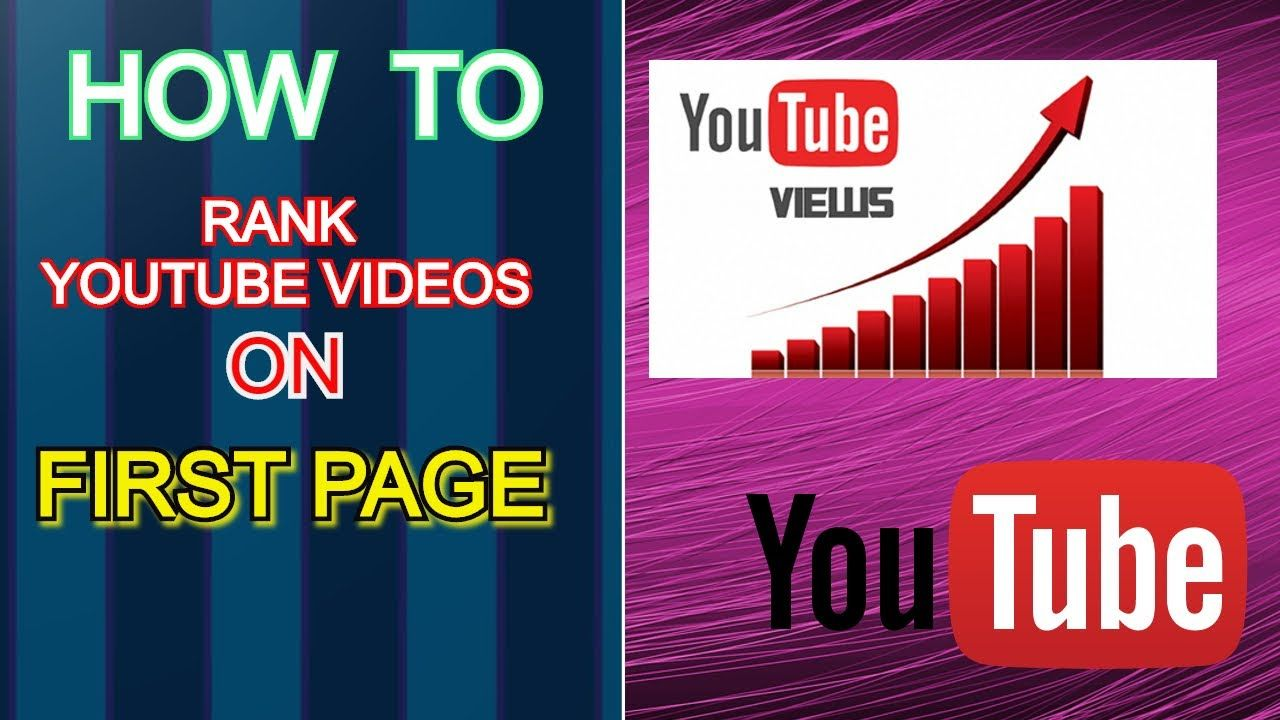 how to rank your video on youtube first page in 2020