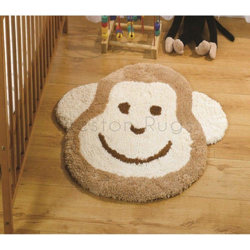 Nursery Cheeky Monkey Children's Rug