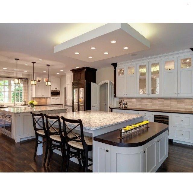 Modern kitchen with 2 islands - Interior Design Ideas, Interior