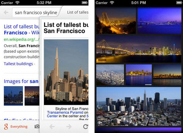 Google Search For Iphone Gets The 2 0 Remake Full Screen Search