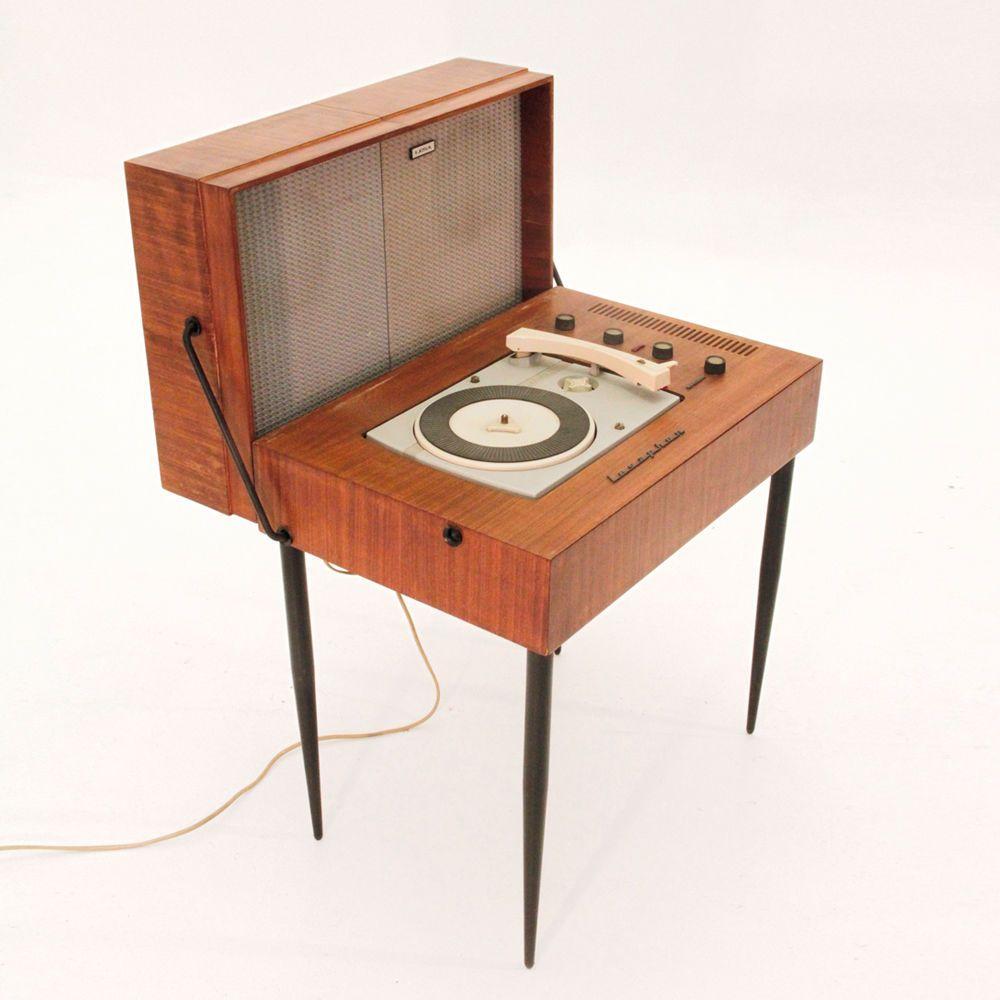 Mobiletto giradischi lesa anni 60 vintage modernariato turntable in arte e antiquariato - Mobili vintage anni 60 ...