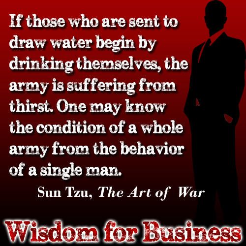 """Art Of War Quotes Know Your Enemy: Wisdom For Business: Quote From Sun Tzu """"The Art Of War"""""""