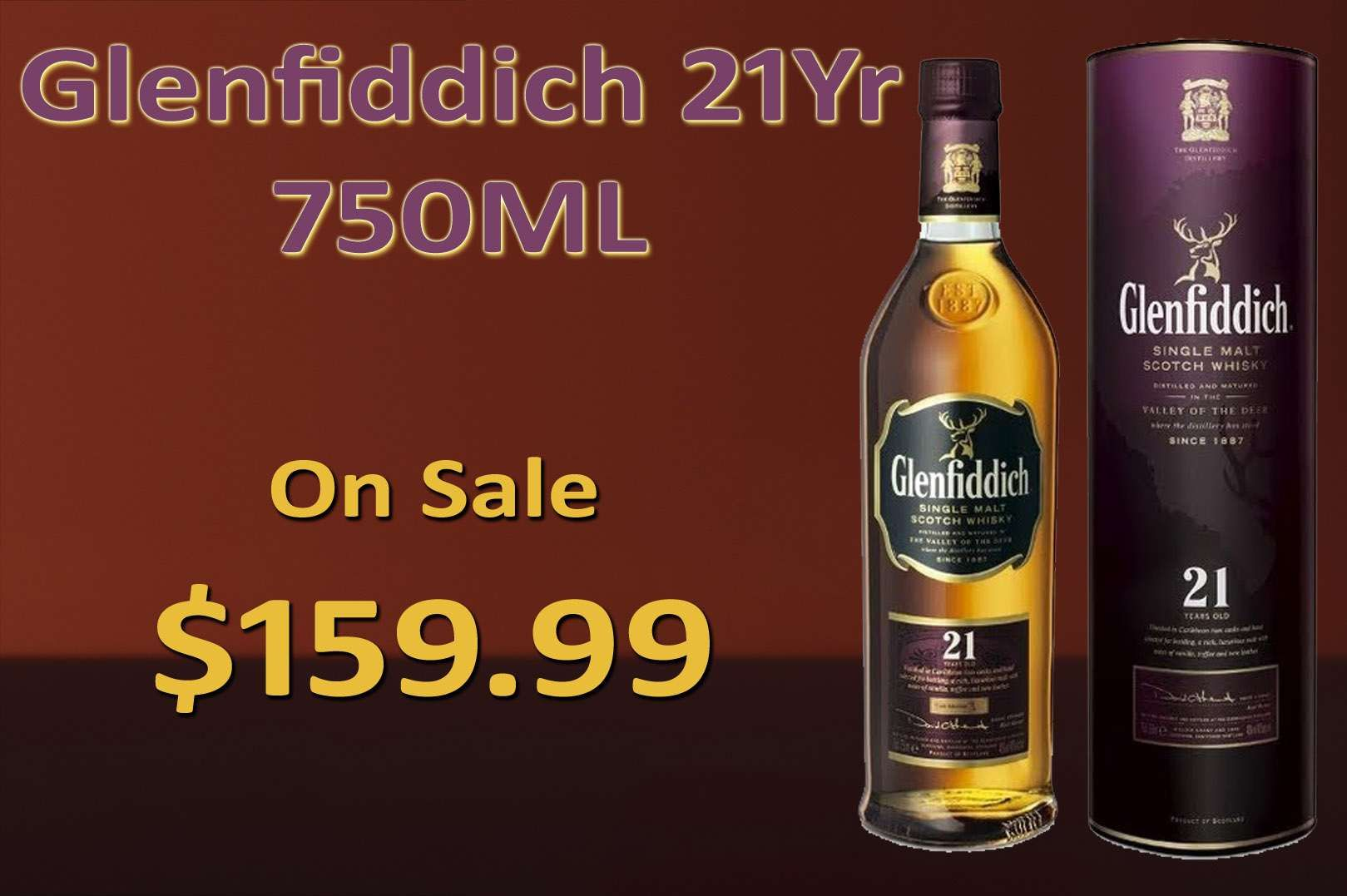 Glenfiddich 21yr 750ml Wine And Beer Wine Online Wine Discount