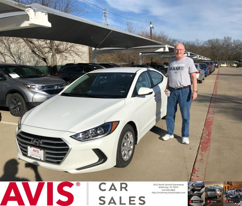 Avis Cars For Congratulations Richard On Your Hyundai Elantra From Justin Wall