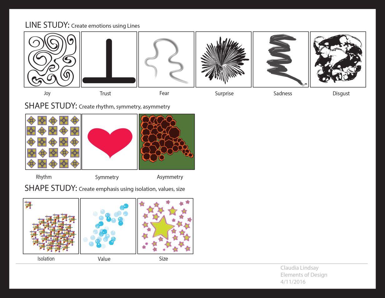 Com230 Elements Of Design Template