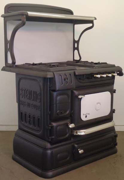 Dual Fuel And Combination Stoves Antique Kitchen Wood Stove Vintage