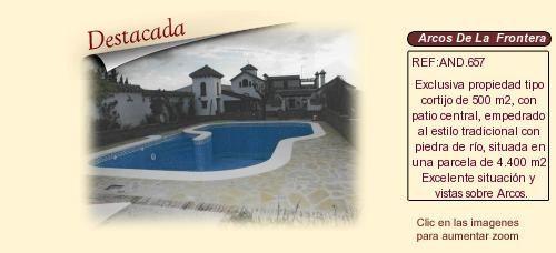 AND657 Arcos de La frontera. Cadiz  Casa señorial en venta http://www.lancoisdoval.es/fincas-en-venta.html