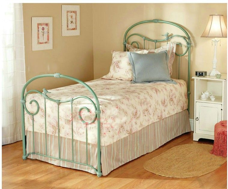 Iron Bed King Metal Bed Frame Iron Twin Bed Bed