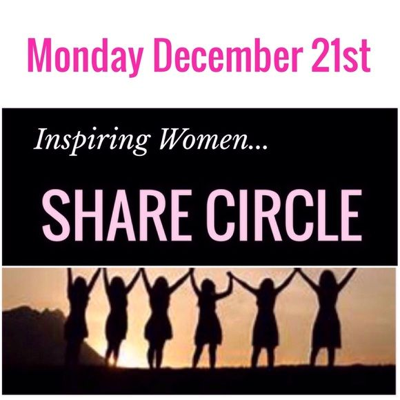 Monday 12/21 Sign In Hey girls! Comment below each day by 3pm PST/ 6pm EST if you want to be included in that evenings shares.  Sharing will be 7pm to 2am EST . Once the evening share list is posted you will need to share 10 listings from the top of each persons closet on the list. (Please remember to move the items you would like to be shared to the first 10 spots in your closet) Once you complete your shares you must sign out on this listing. All closets must be Poshmark compliant to be…