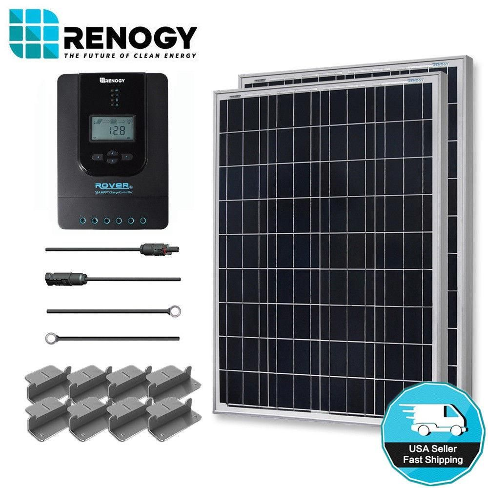 Renogy 200-Watt 12-Volt Polycrystalline Off-Grid Solar