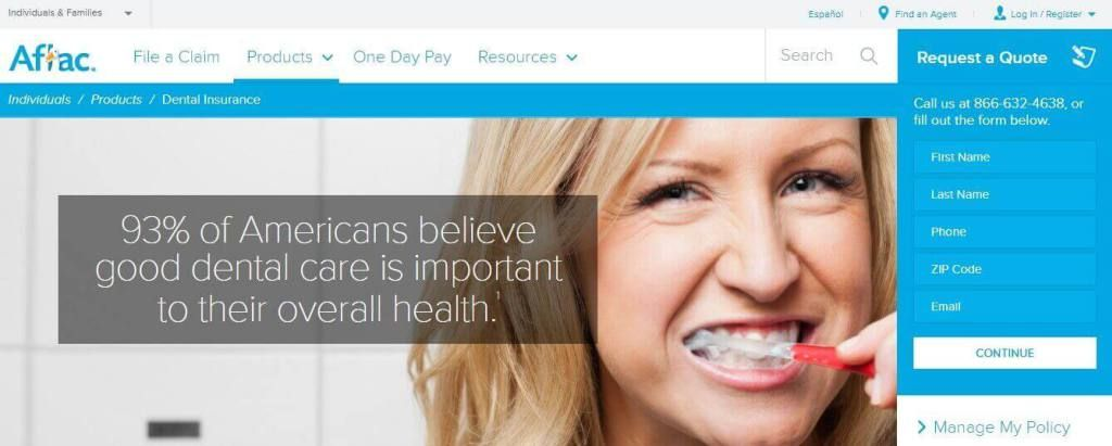 Aflac dental insurance login make payment claim contact
