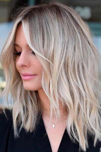 Medium Length Haircut - metuyi.com/haircuts #cutehairstylesformediumhair