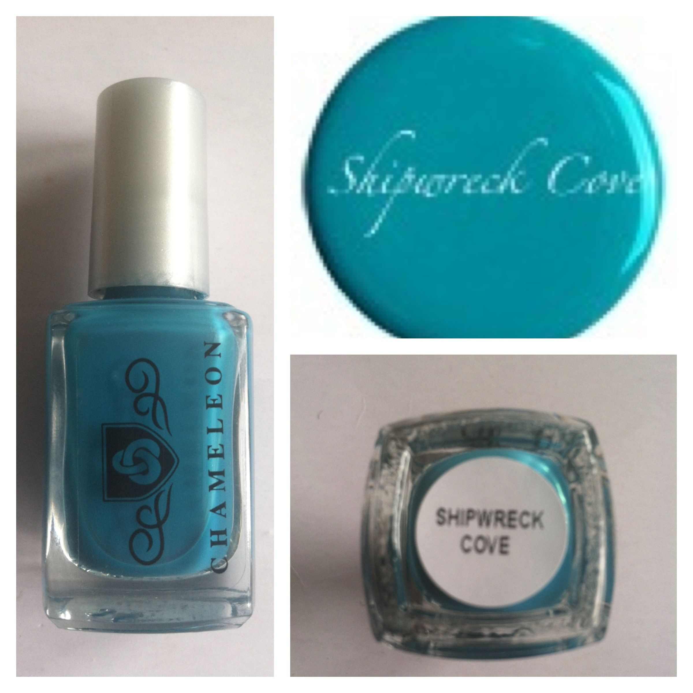 Chameleon Nail Lacquer Shipwreck Cove Fast Drying, Long Lasting ...