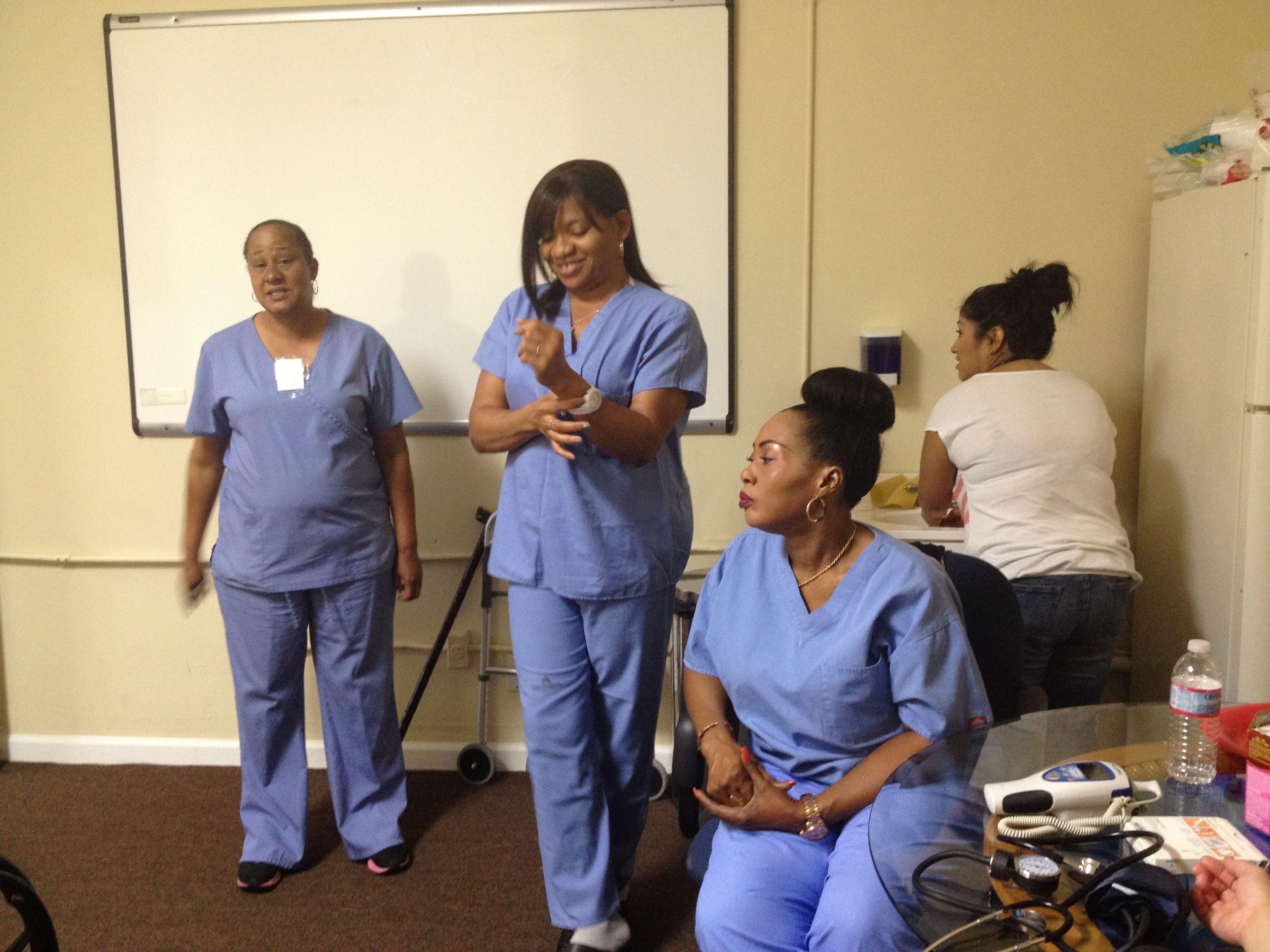 Certified nurse aide program yaya medical training
