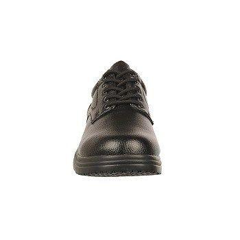 Deer Stags Men's DS Work Service Medium/Wide Slip Resistant Oxford Shoes (Black) - 10.0 W