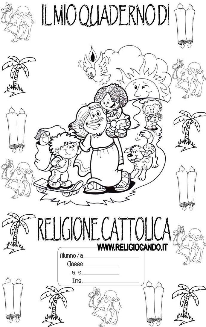 Copertinaquaderno Di Religionecattolicaclasseterza2015 2016