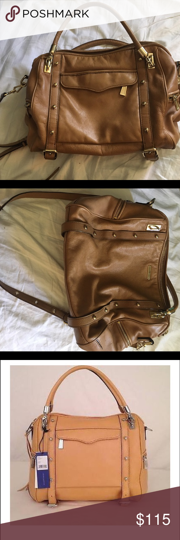 Rebecca Minkoff Cupid satchel Used Rebecca Minkoff satchel, great bag just don't use anymore. Make an offer. Third photo is stock to show it looks stuffed Rebecca Minkoff Bags Satchels