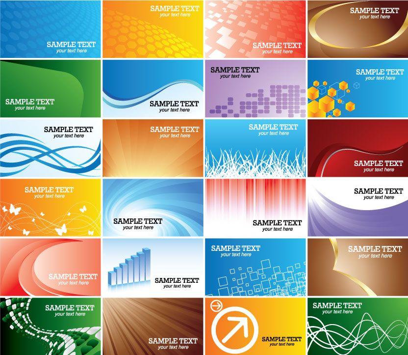 Geschäfts Karten Vorlagen Cd Rom Mit Visitenkarten Vorlagen
