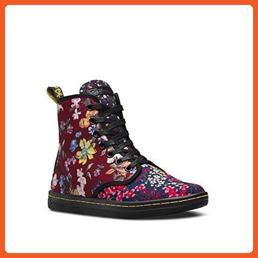 de133fb871dfd Dr. Martens Women's Floral Shoreditch Classic Fashion Boots, Multi ...