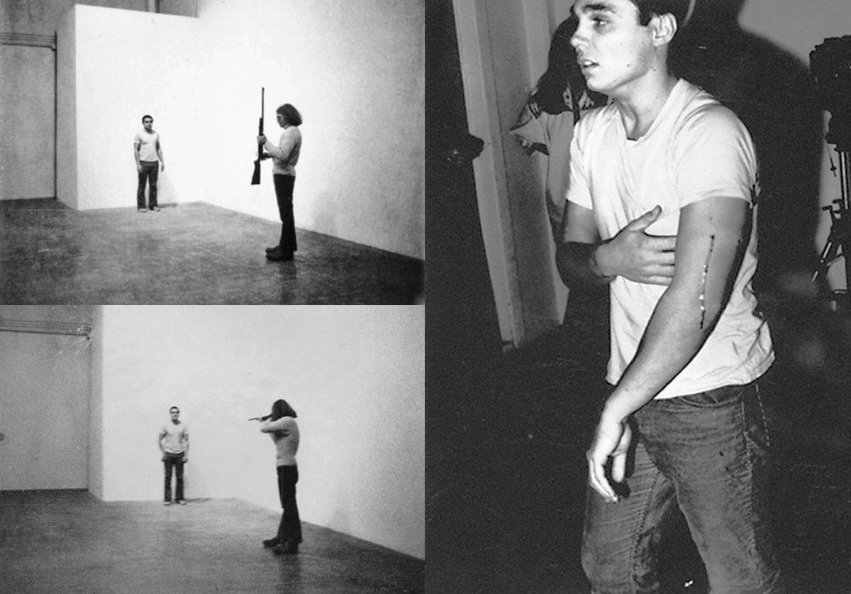 Watch Chris Burden Get Shot For The Sake Of Art 1971 Performance Art Performance Artist Art World