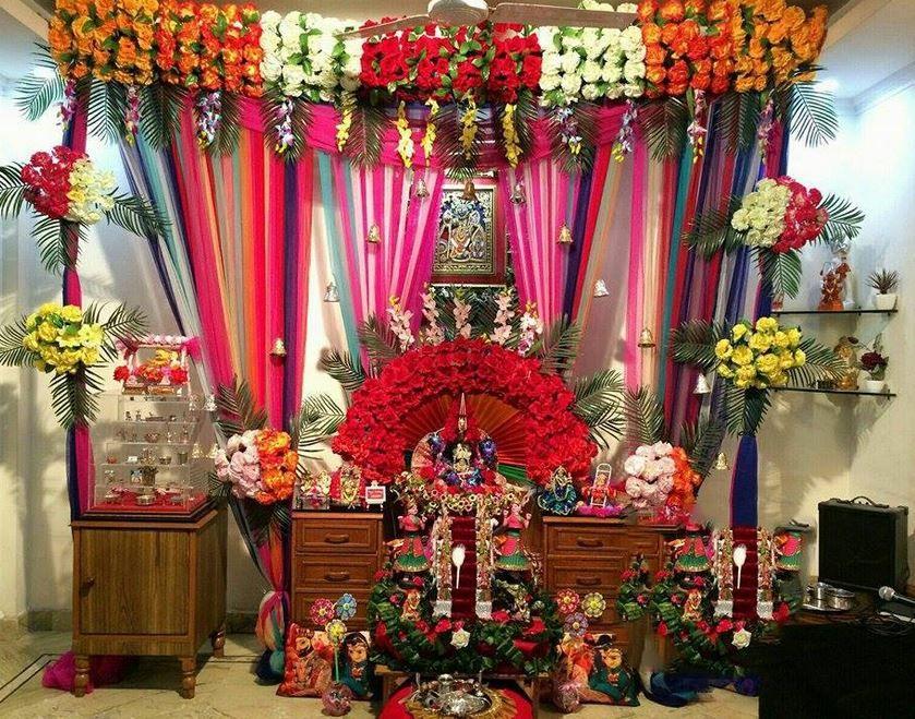 Decoration Ideas For Krishna Janmashtami Janmashtami