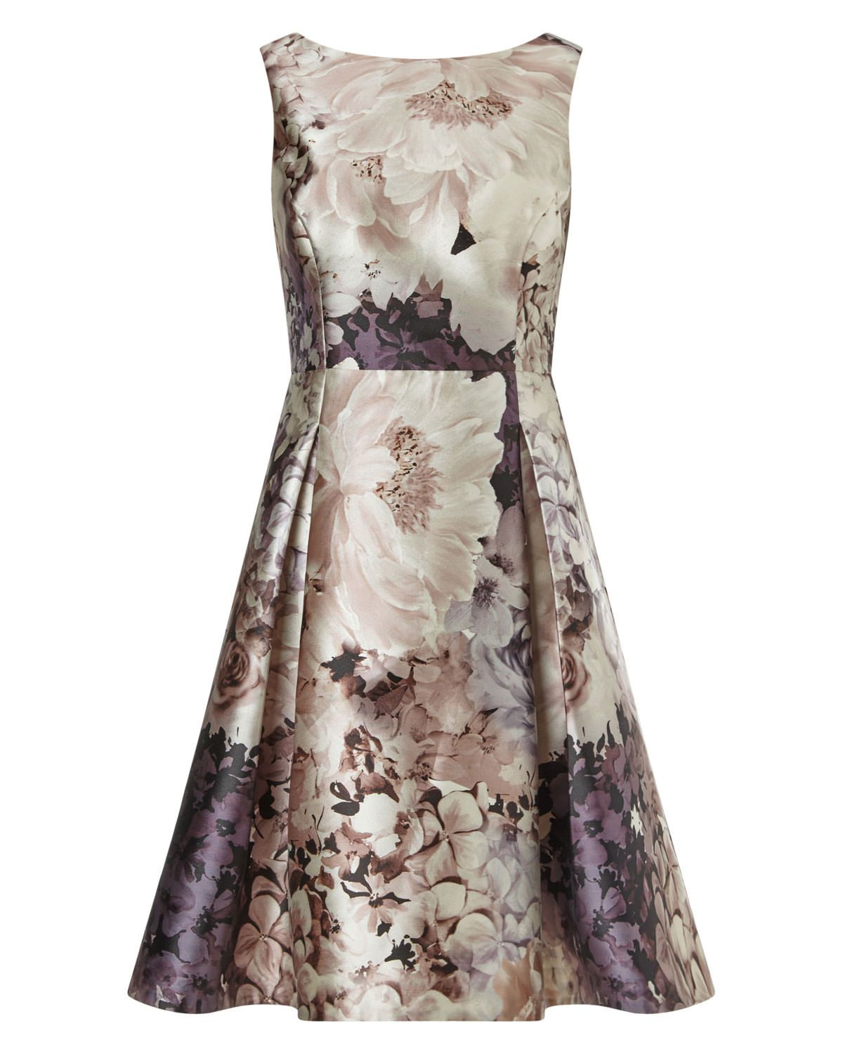 Phase eight casey floral dress brown my style wishlist for Brown dresses for wedding guest