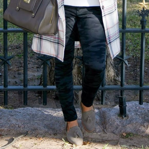 Camo skinny jeans express
