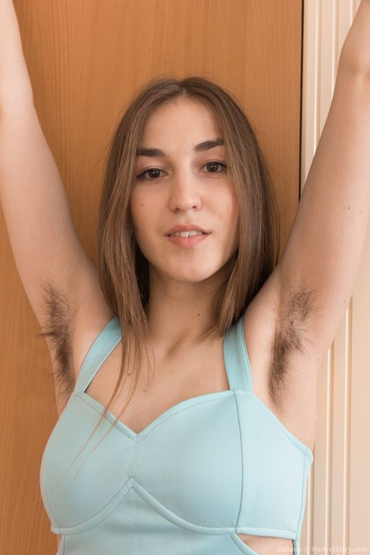 Free hairy woman