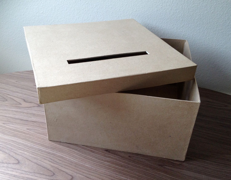DIY card box, rustic card box , wedding card box by TheColorHolic on Etsy https://www.etsy.com/listing/226604489/diy-card-box-rustic-card-box-wedding