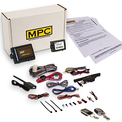 Complete 2Way Remote Starter Compatible With Honda And